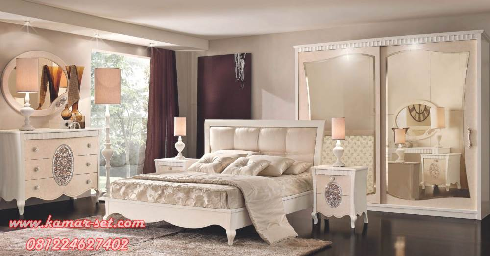 Model Kamar Tidur Elegan Mewah Simple KSK-78
