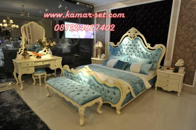 Set Kamar Mewah Blue Frozen