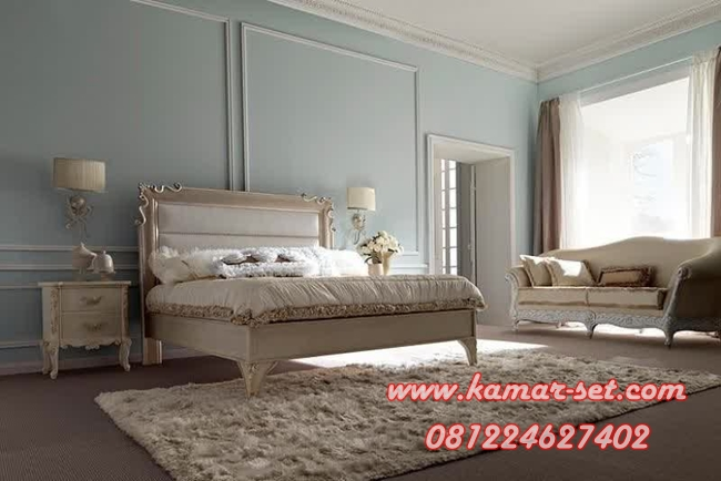 Set Tempat Tidur Elegan French Style KSK-44