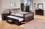 Set Tempat Tidur Sorong Anak Minimalis Lucia