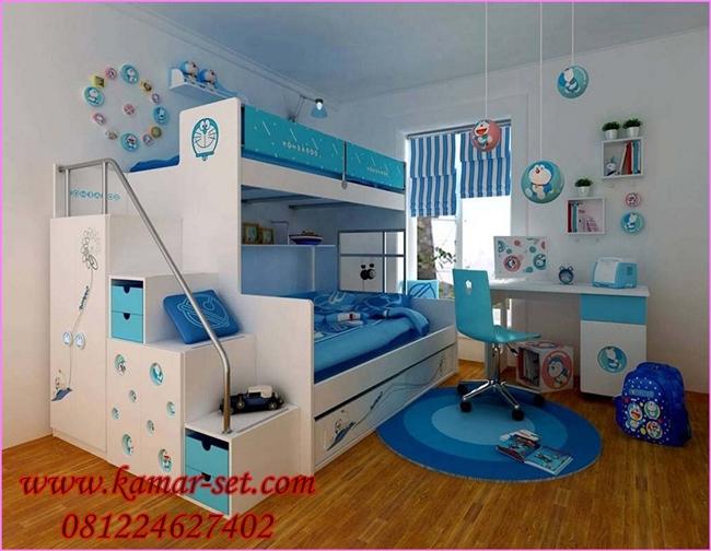 Harga Set Tempat Tidur Tingkat Doraemon