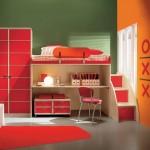 Dekorasi Kamar Tidur Anak Warna Mewarh