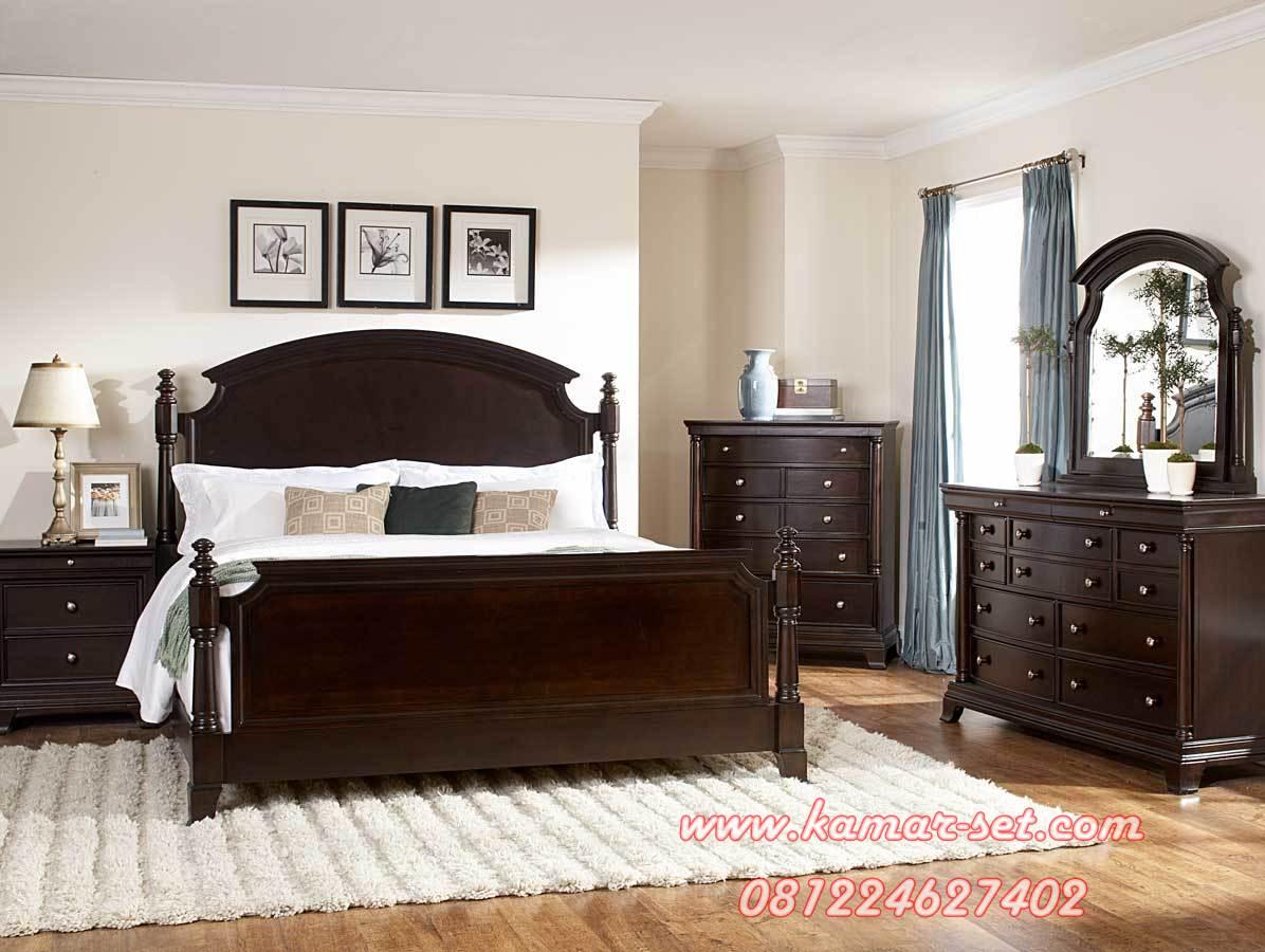 Kamar Tidur Klasik Brown KSK-84