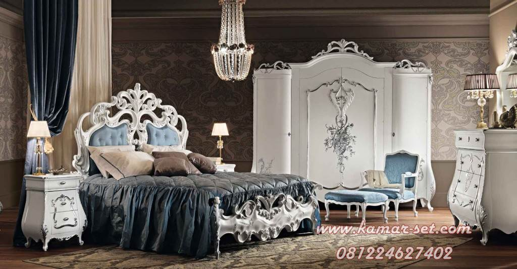 Set Kamar Tidur Mewah Luxury Katrina KSU-104