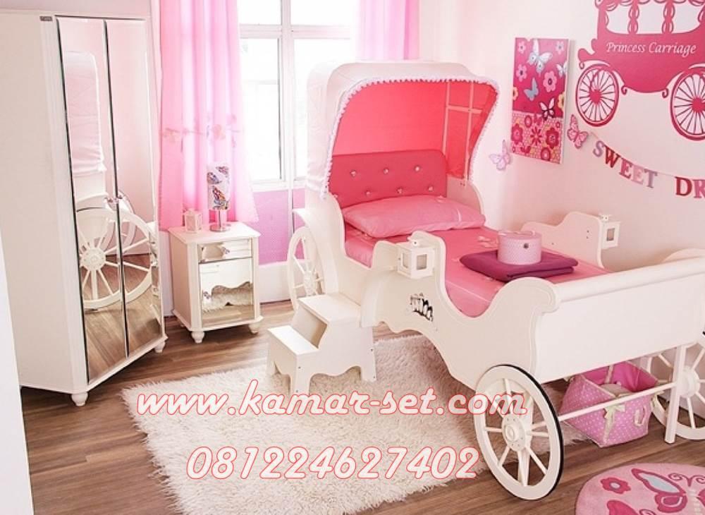 Set Tempat Tidur Kereta Cinderella