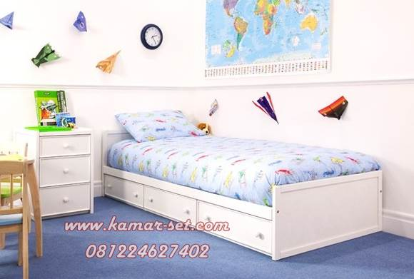 tempat tidur anak laki laki minimalis ranjang anak set