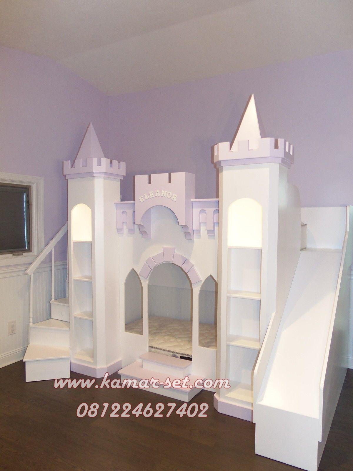 tempat tidur anak prosotan jual ranjang kastil kamar