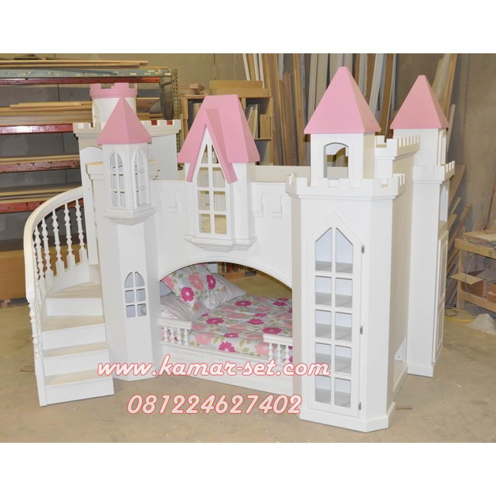 jual tempat tidur anak kastil dan jasa pembuatan kamar