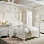Tempat Tidur Kanopi Klasik Minimalis Model Sekarang