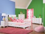 Tempat Tidur Minimalis Anak Perempuan Modern