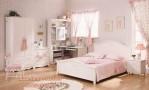 Kamar Tidur Nuansa Klasik Minimalis Putih Anak Perempuan
