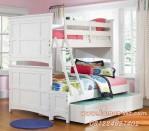 Kamar Tidur Tingkat Susun Putih Ukuran Besar