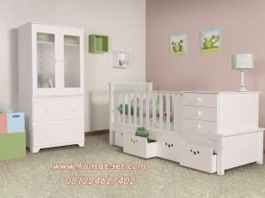 jual set ranjang kamar bayi box bayi ukuran jumbo kamar