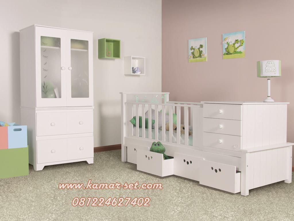 Set Ranjang Kamar Bayi Modern Si Chika