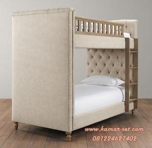 tempat tidur susun mewah anak perempuan laki laki murah