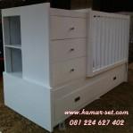 Ranjang Box Bayi Kotak Minimalis Pesanan Ibu Vina Jakarta Tebet