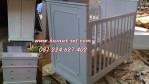 Set Perlengkapan Furniture Kamar Tidur Bayi Si Lola