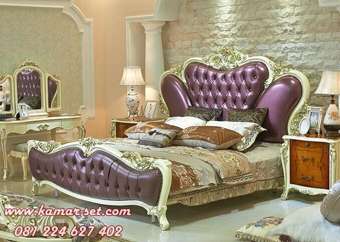 Style Set Kamar Tidur Lux Jog Warna Ungu KSM-231