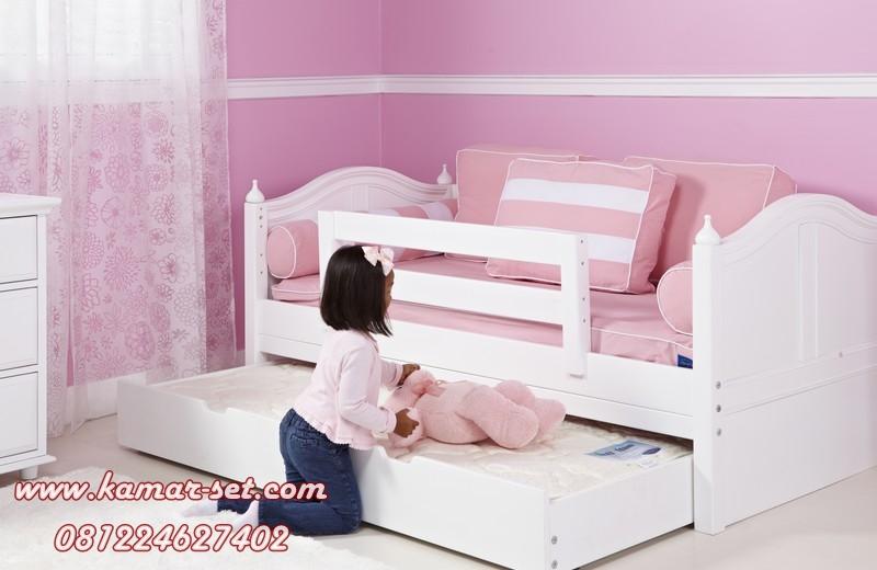 tempat tidur simple anak murah with ranjang sorong kamar