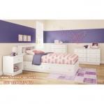Kamar Minimalis Anak Terbaru Warna Putih KSKTA-276