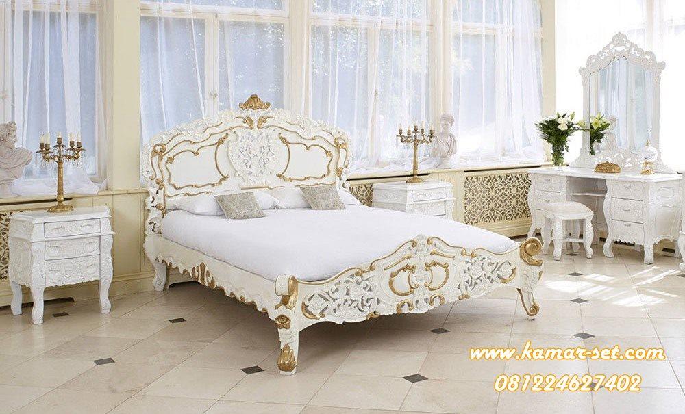 Kamar Tidur Racoco Mewah