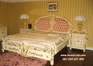Tempat Tidur Klasik Gold Duco KSK-253