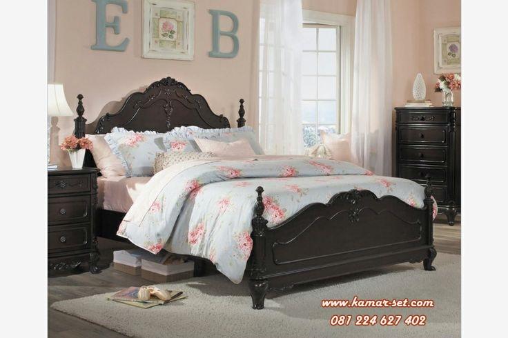 Tempat Tidur Ukir Simple Terbaru