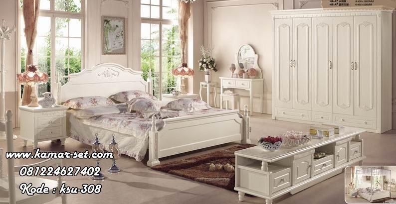 Desain Kamar Tidur Minimalis Klasik White Paiting