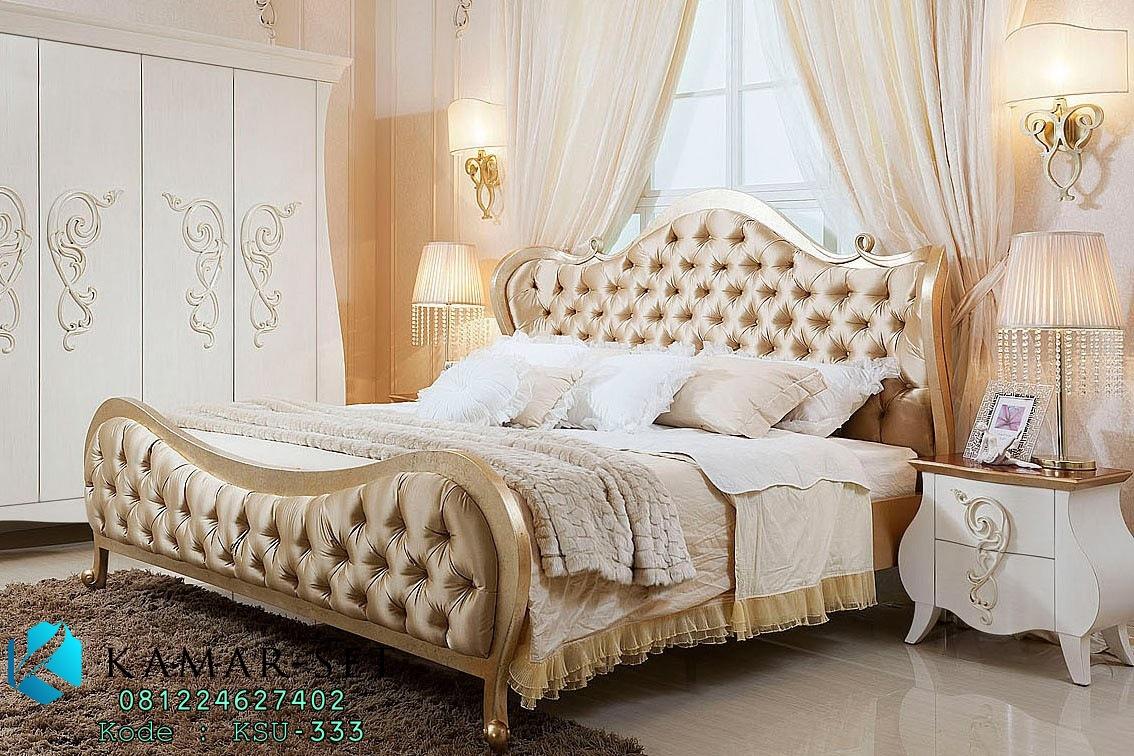 Tempat Tidur Romantis Gold KSK-333