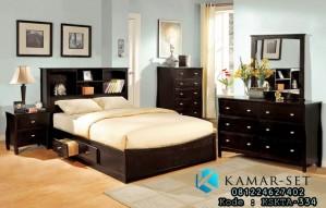 Set Kamar Tidur Anak Brown