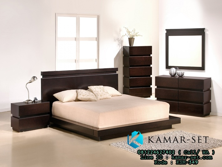 Set Tempat Tidur Jepang Desain Minimalis KSM-349