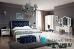 Set Tempat Tidur Utama Elegan Romantic Chesterfield