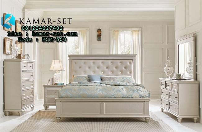 Tempat Tidur Minimalis Silver Klasik KSM-350