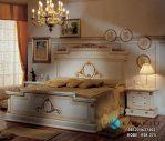 Tempat Tidur Klasik Krem Gold KSK-374
