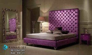 Tempat Tidur Elegan Minimalis Klasik Purple