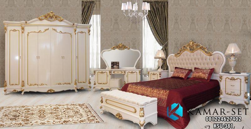 Tempat Tidur Set Klasik Mewah KSU-381