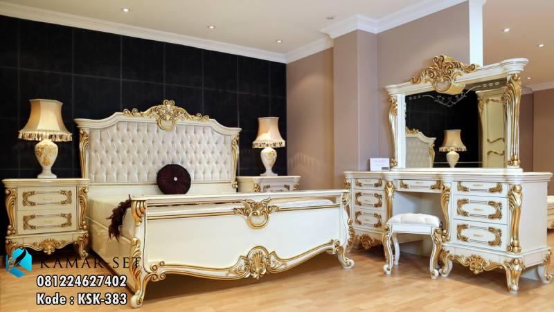 model tempat tidur klasik mewah terbaru lengkap kamar
