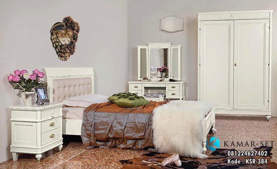 jual set tempat tidur remaja klasik ranjang anak