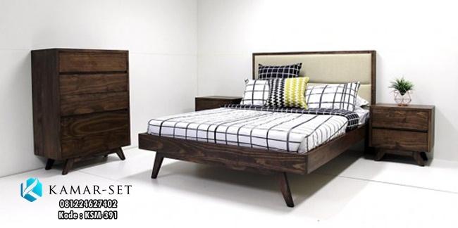 Set Tempat Tidur Retro Murah Terbaru KSM-391