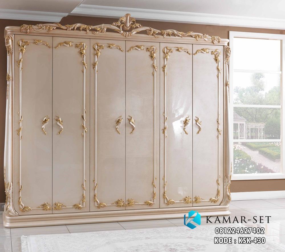 Lemari Pakaian Klasik Pintu 6