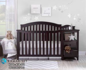 Tempat Tidur Bayi 4 in One Espresso