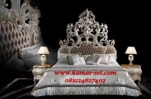Set Kamar Tidur Pengantin Ukiran Mewah Eksotik