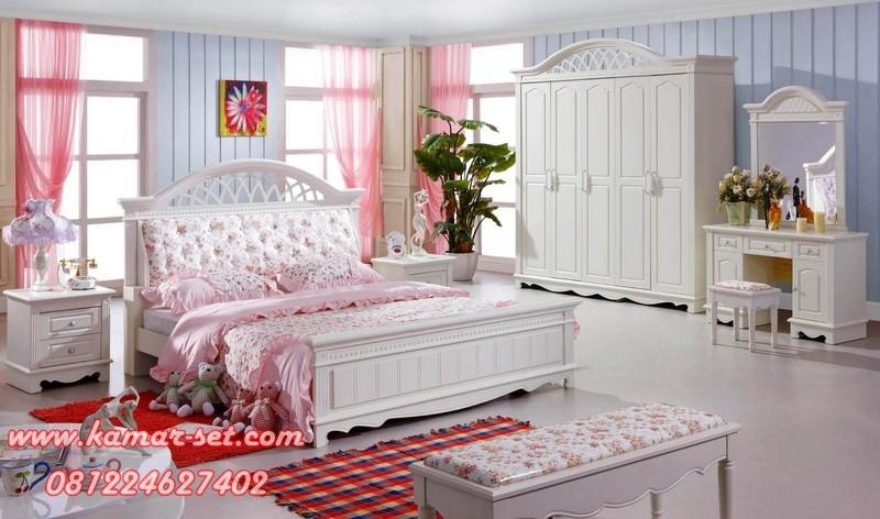 Set Tempat Tidur Klasik Minimalis KSK-16