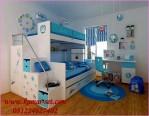 Tempat Tidur Tingkat Doraemon Kamar Set Anak