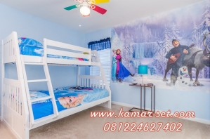 Tempat Tidur Tingkat Frozen