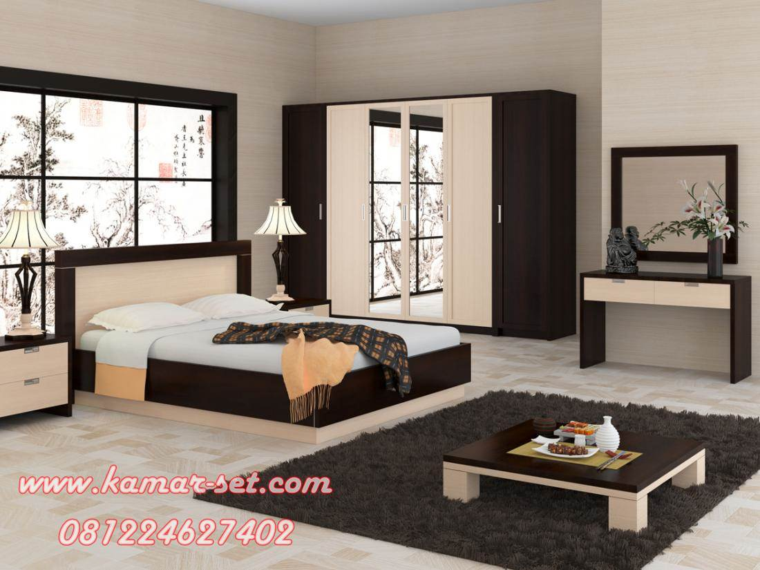 Desain Ruang Kamar Tidur Minimalis Ukuran Luas