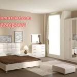 Kamar Set Putih Desain Minimalis Terbaru