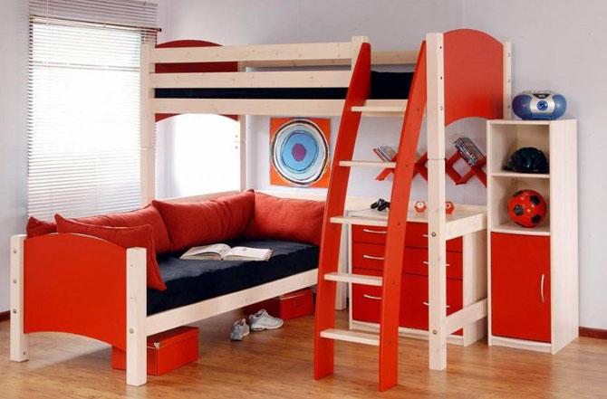 Kamar Tidur Anak Sederhana Susun