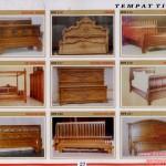 Model Tempat Tidur Jati Murah
