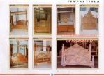 Model Tempat Tidur Tiang Kanopi Kayu Jati Jepara